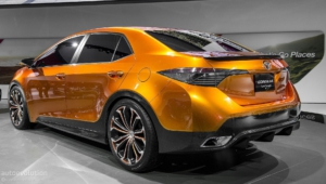 Toyota Corolla 4k