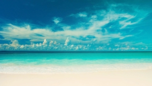 Turquoise Sea Hd Desktop