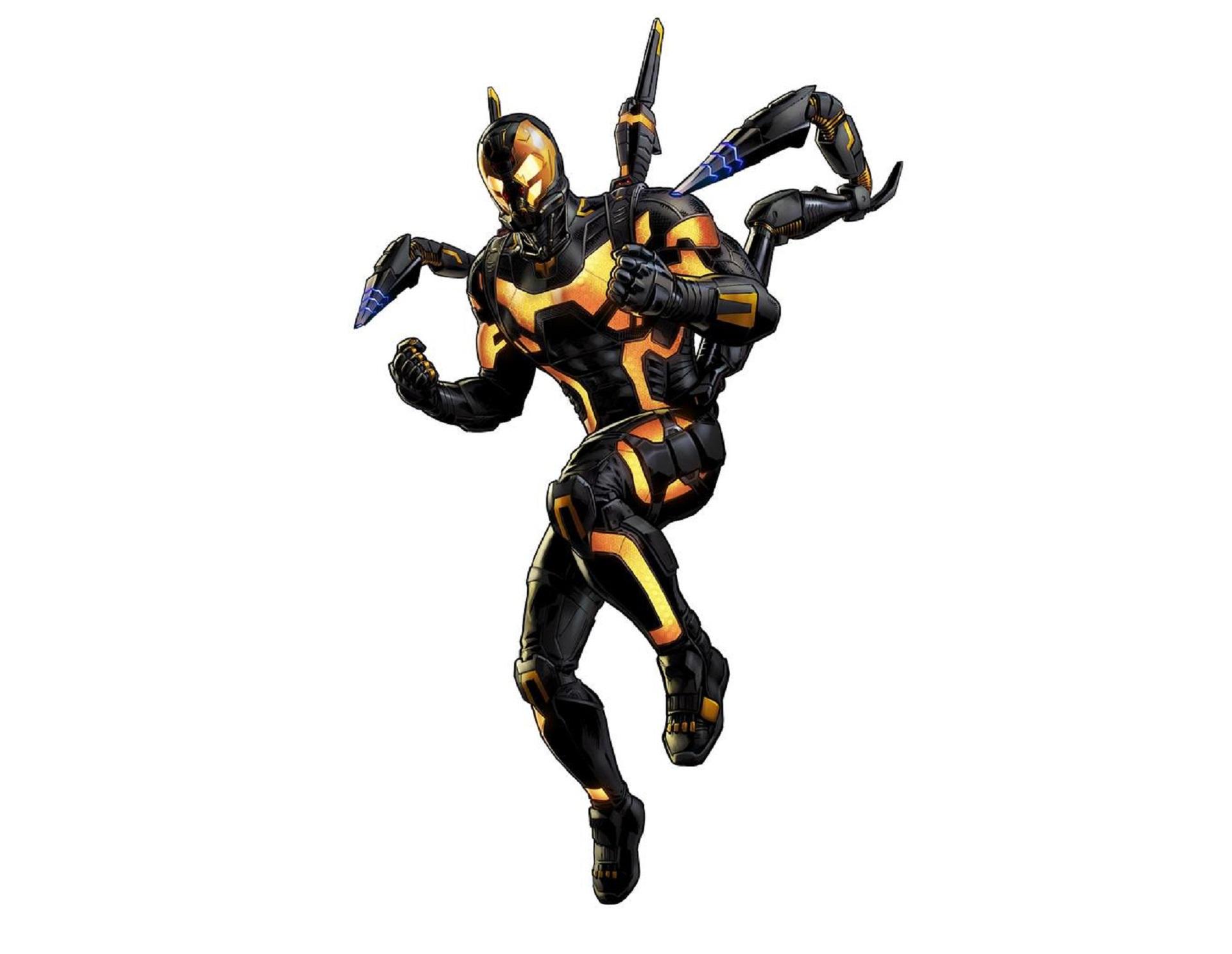 Yellow Jacket Marvel Widescreen
