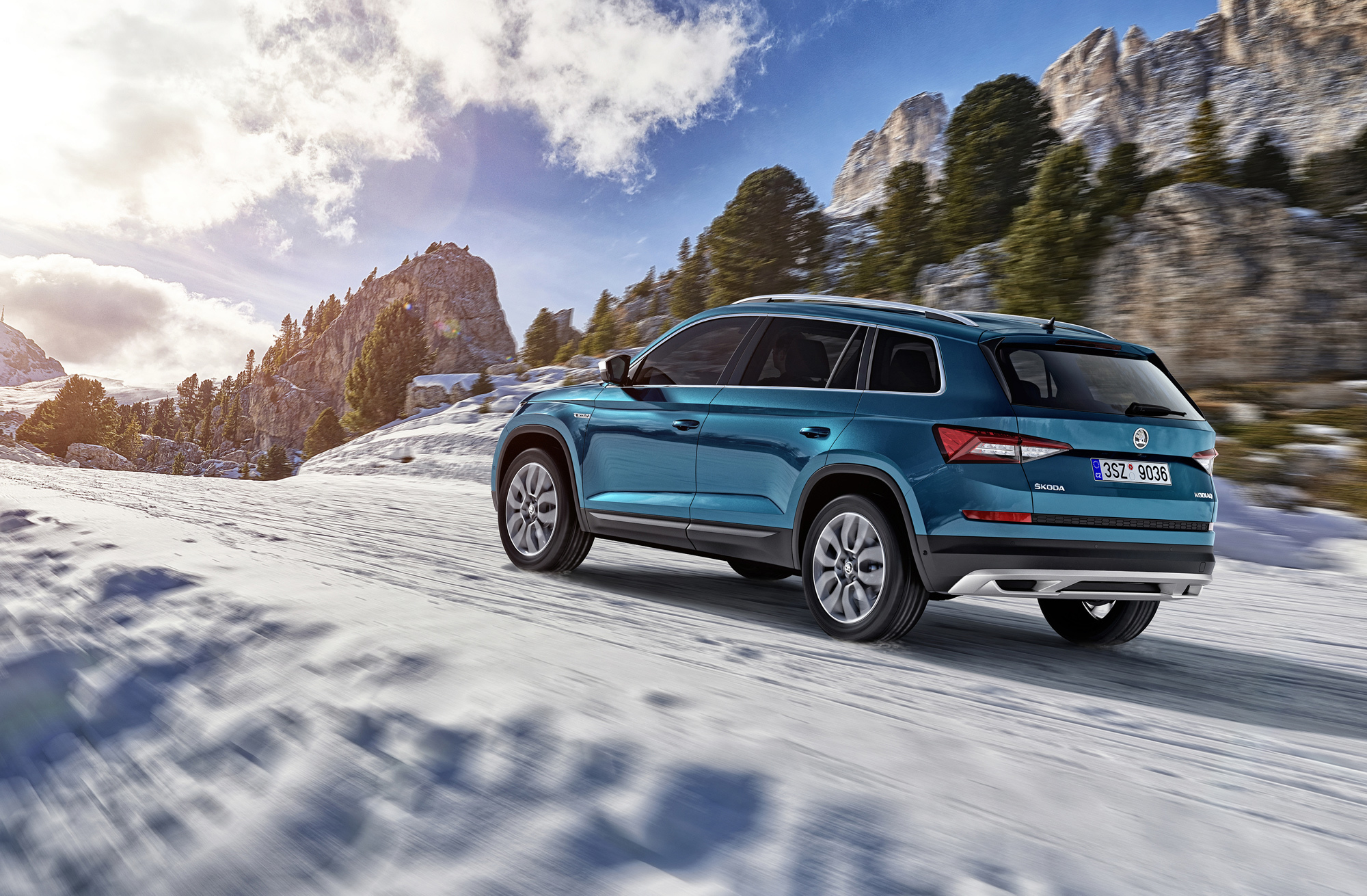 skoda kodiaq scout wallpapers images photos pictures backgrounds. Black Bedroom Furniture Sets. Home Design Ideas