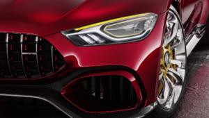 Mercedes AMG GT Concept Desktop