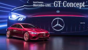 Mercedes AMG GT Concept HD