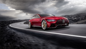 Mercedes AMG GT Concept Images