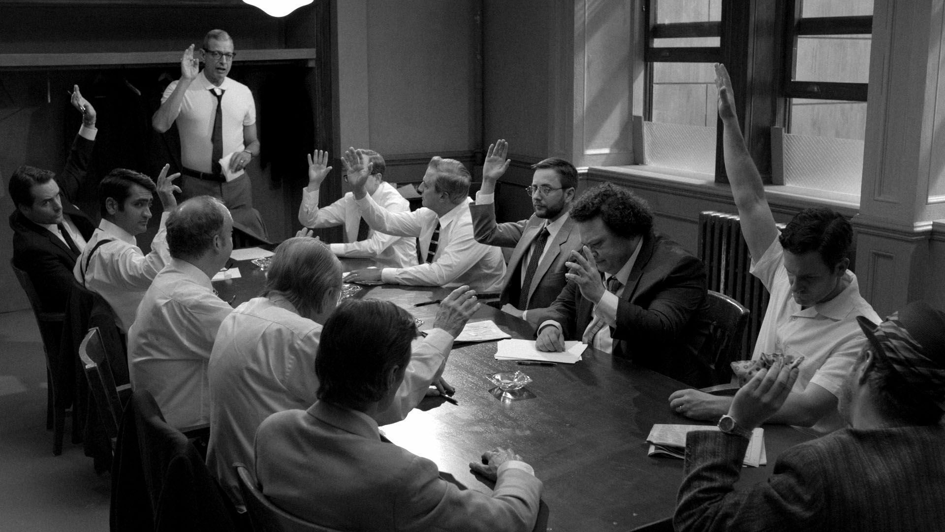 12 Angry Men: Unfolding Dynamics of Group Therapy