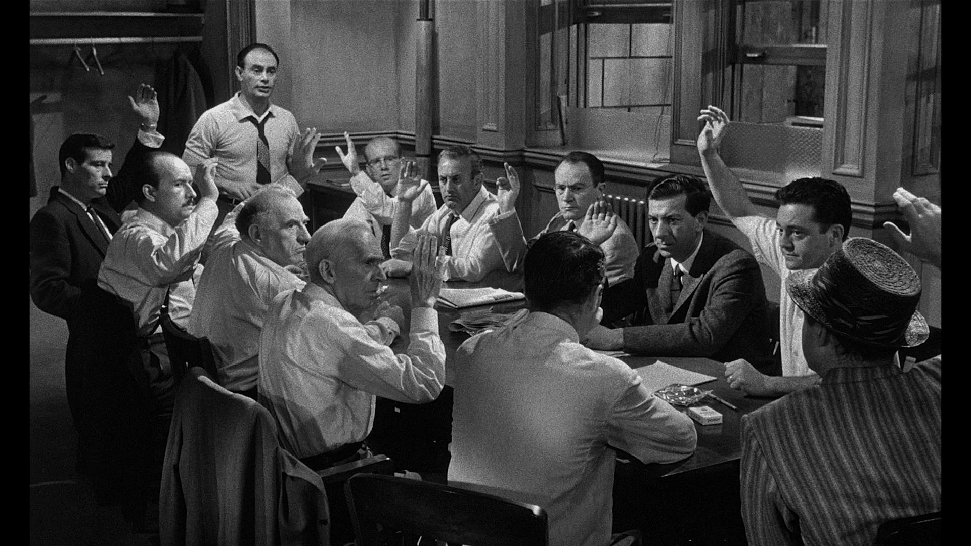 an analysis of the group dynamics in 12 angry men a film classic of 1957