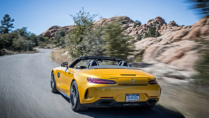 Mercedes AMG GT C Roadster Photos