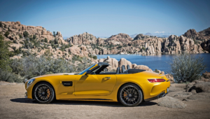 Mercedes AMG GT C Roadster Wallpapers HD