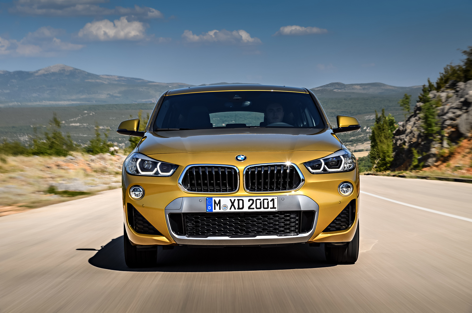 BMW X2 2018 Desktop Wallpaper