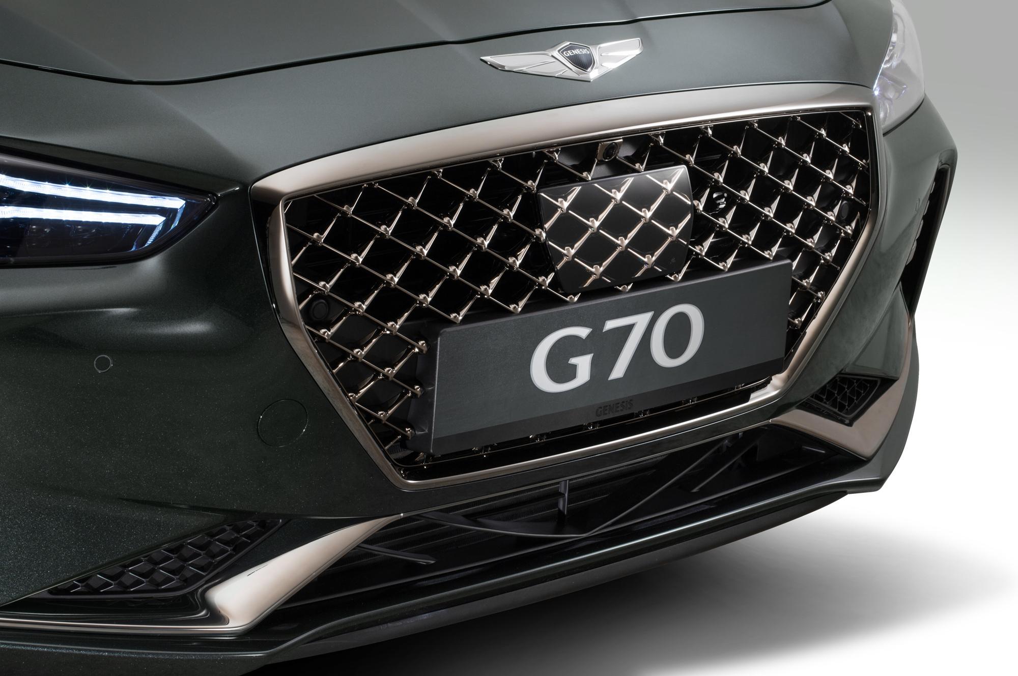 Genesis G70 Widescreen