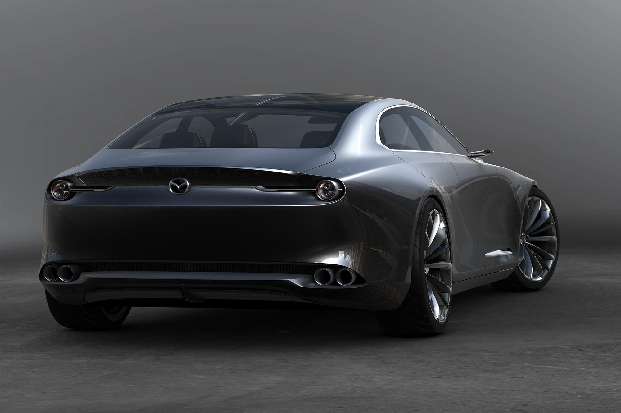 Mazda Vision Coupe Photos