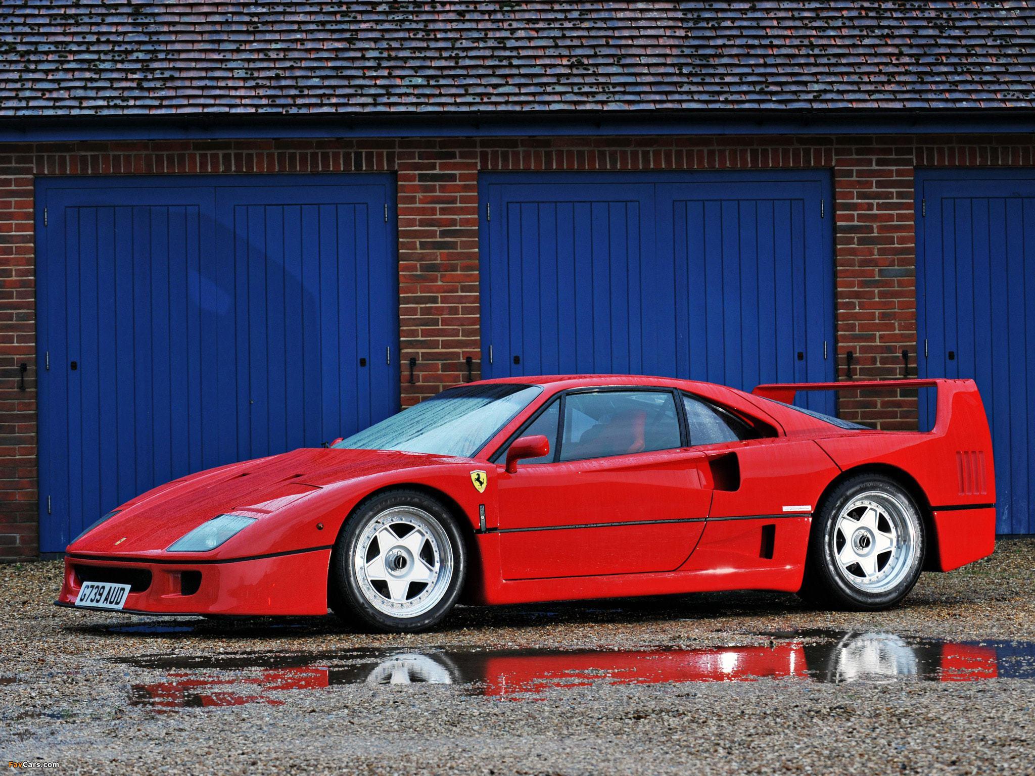 Ferrari F40 Images