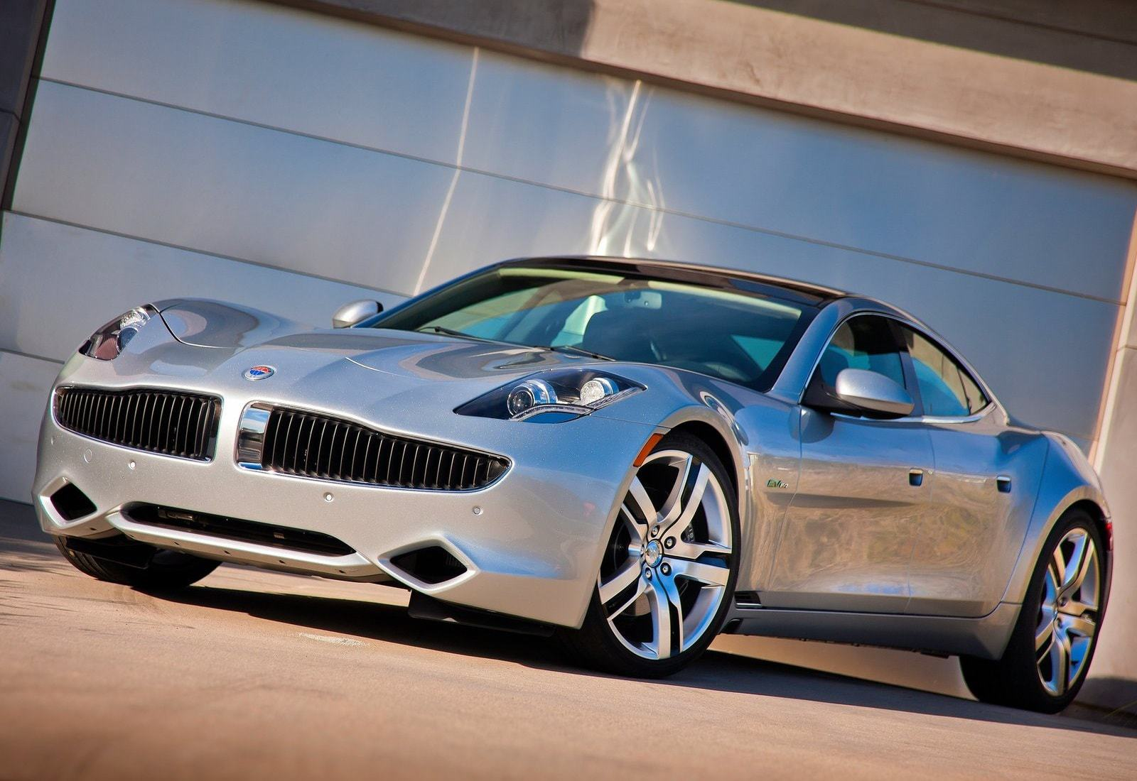 Fisker Karma HD Background