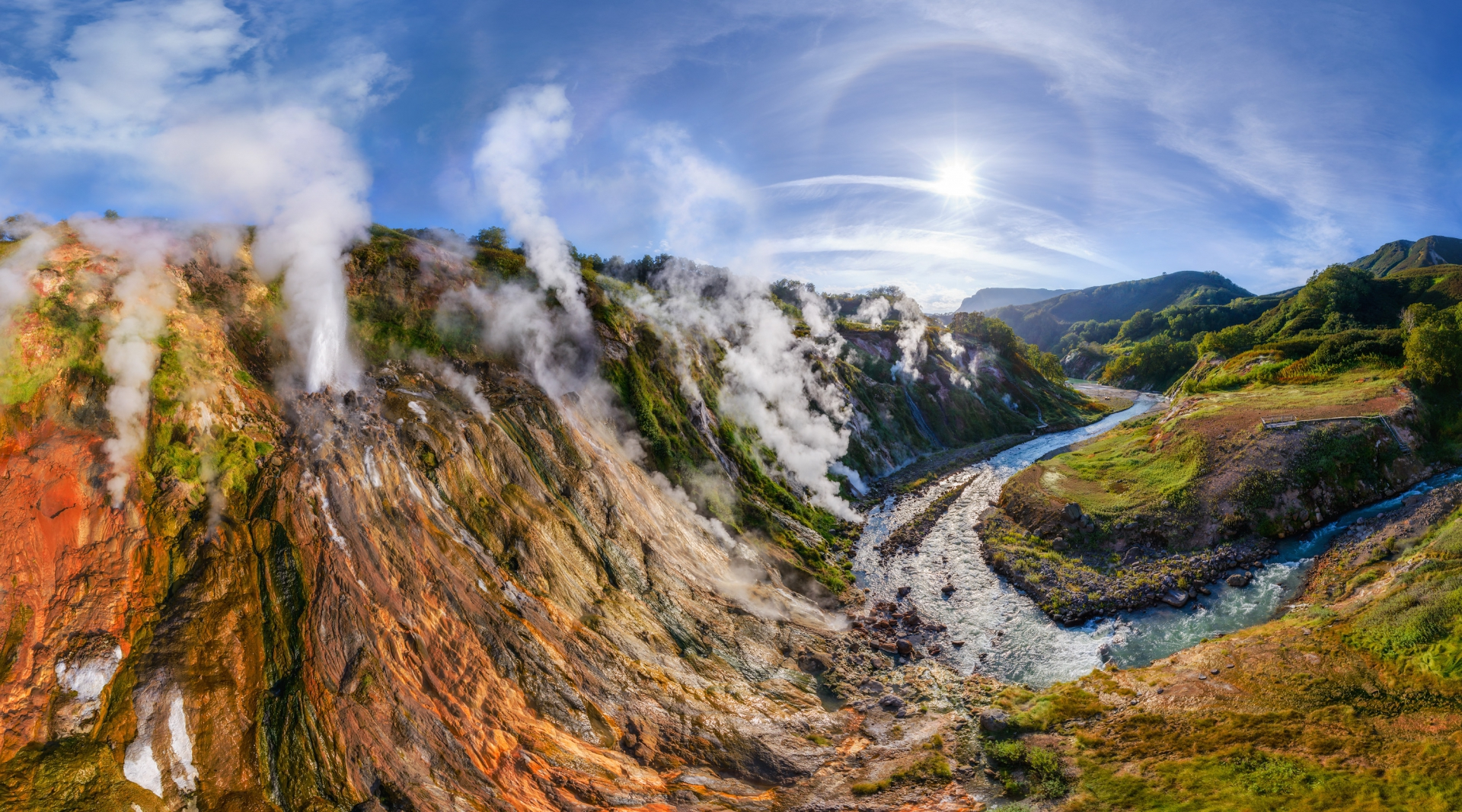 Pictures Of Valley Of Geysers