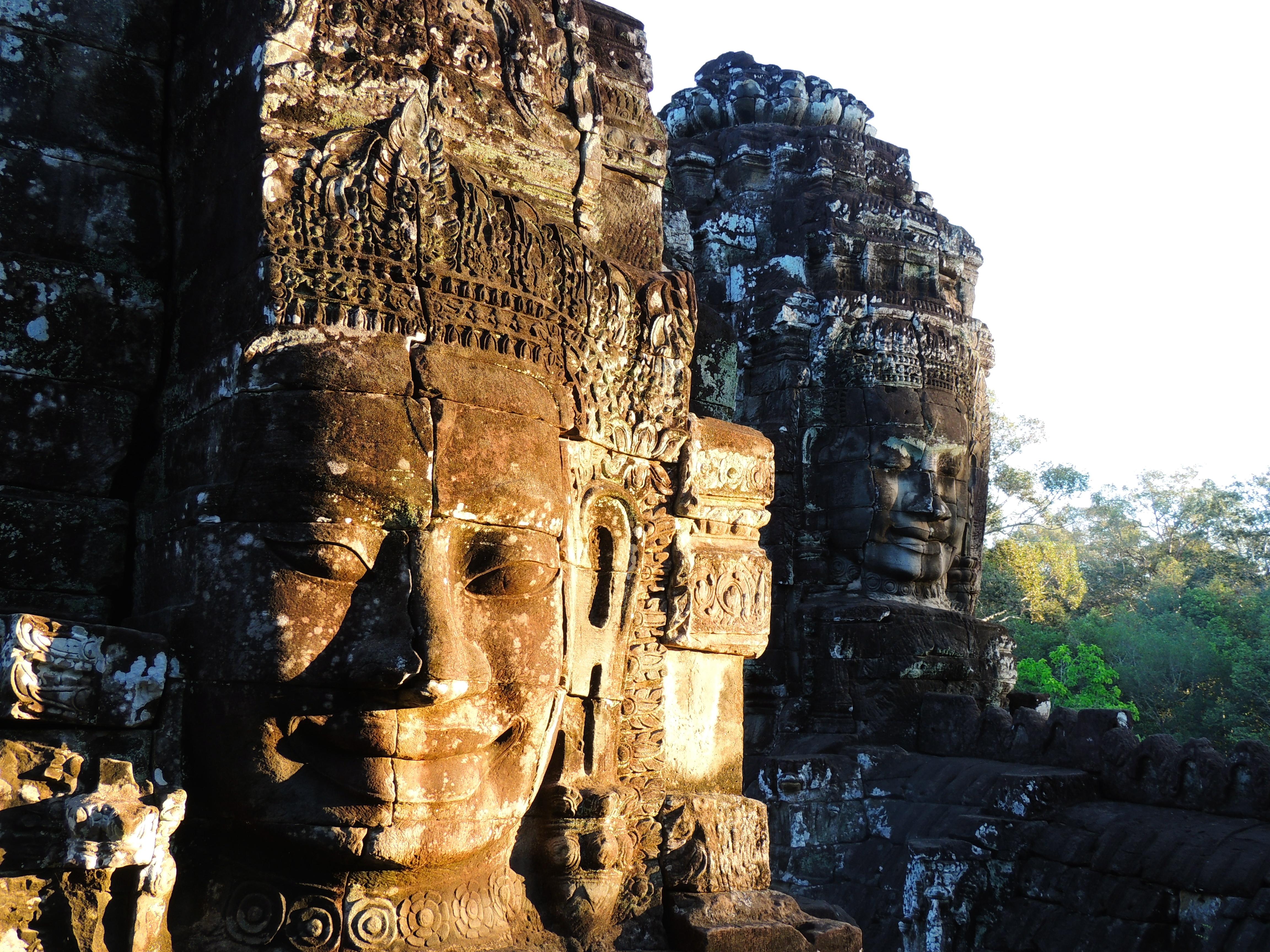 Temple Complex Bayon Photos