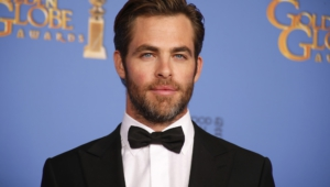 Chris Pine HD Background